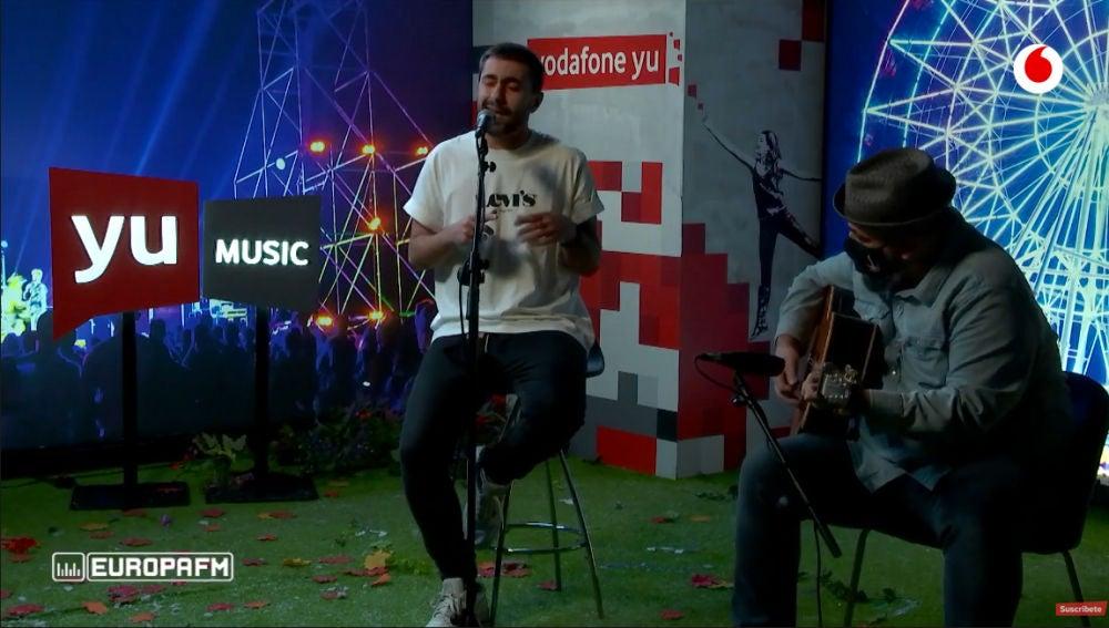 Rayden canta 'Don Creique' en 'yu Music'.
