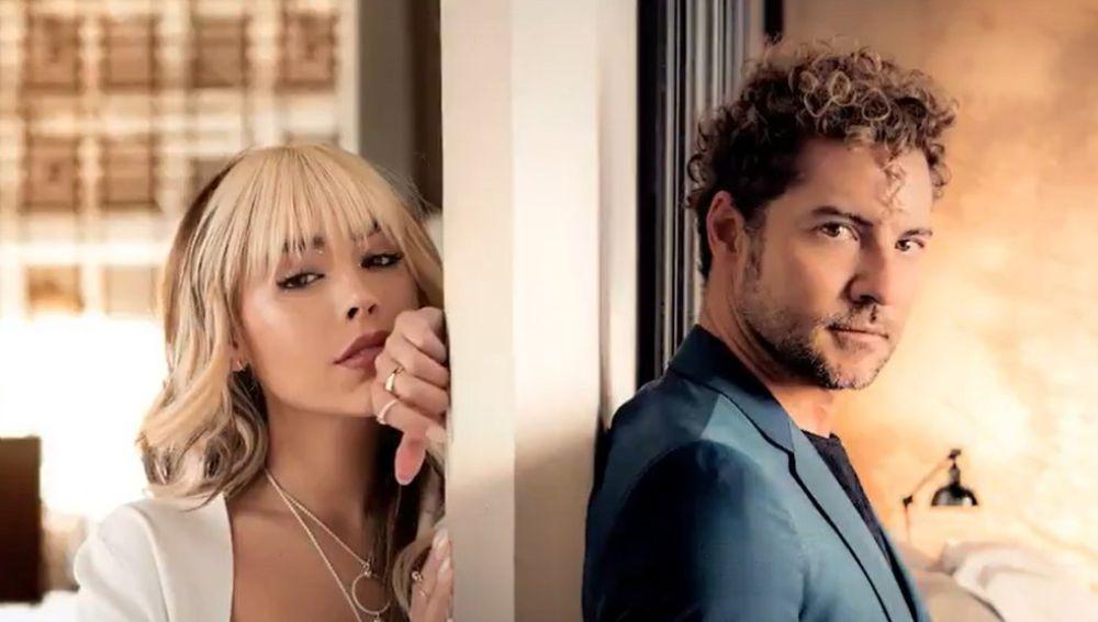 David Bisbal y Danna Paola presentan 'Vuelve, vuelve'
