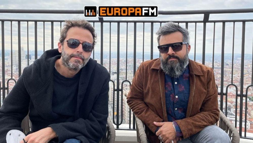 Uri Bonet y Julián Saldarriaga de Love of Lesbian