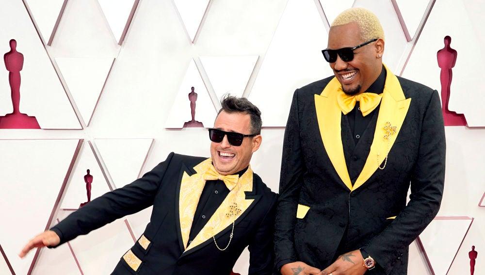 Martin Desmond Roe y Travon Free en los Oscar 2021