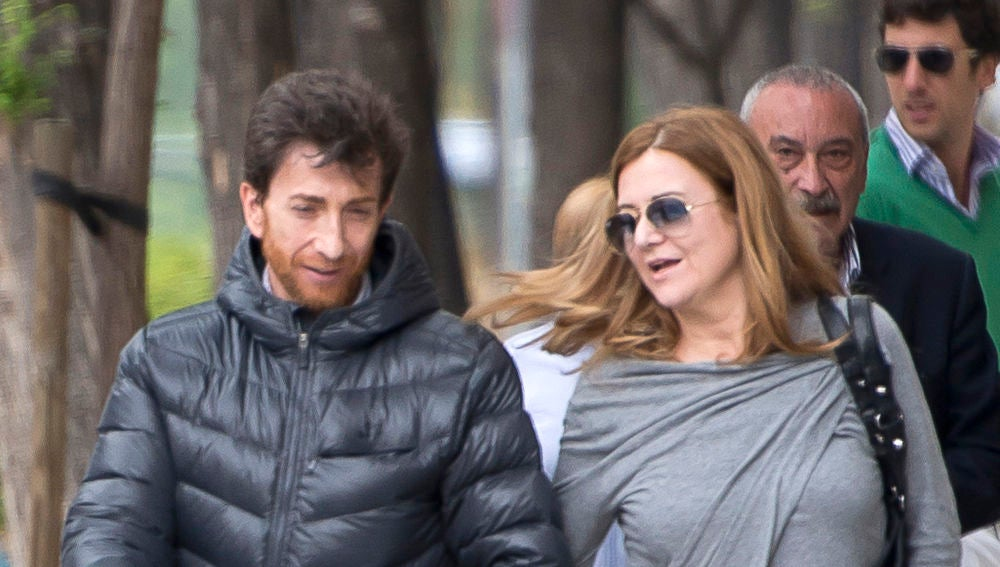 Pablo Motos y Laura Llopis