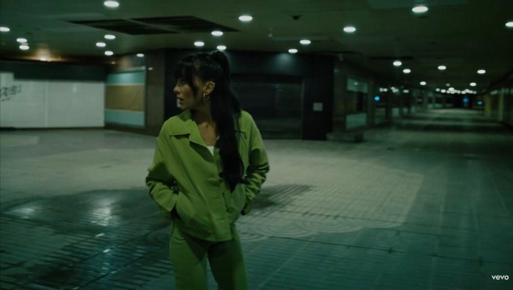 Aitana en el videoclip de 'Ni Una Más'