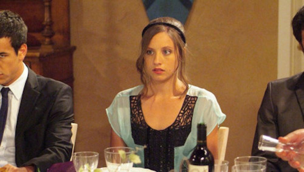 Aitor, Sara y Lucas en 'Los hombres de Paco'.