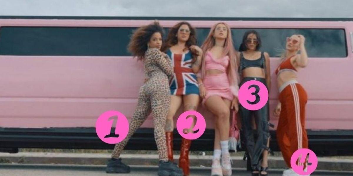 Las cinco protagonistas del videoclip 'Spice Girls' de Lola Indigo
