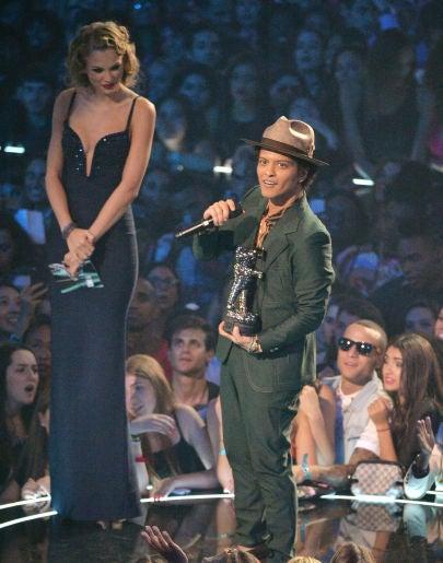 Taylor Swift y Bruno Mars