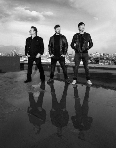 Martin Garrix y Bono y The Edge de U2