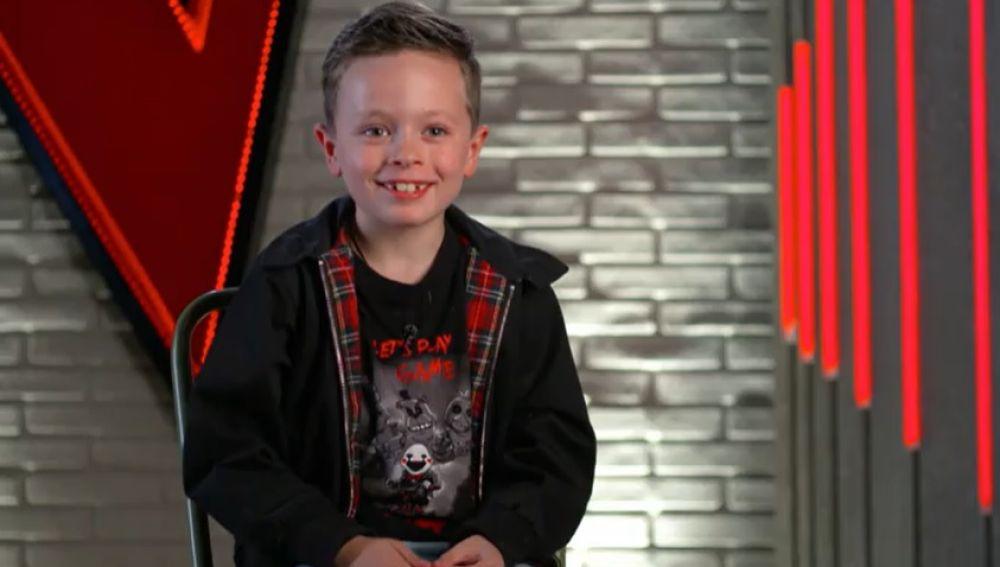 Jesús del Río en la Voz Kids de Antena 3