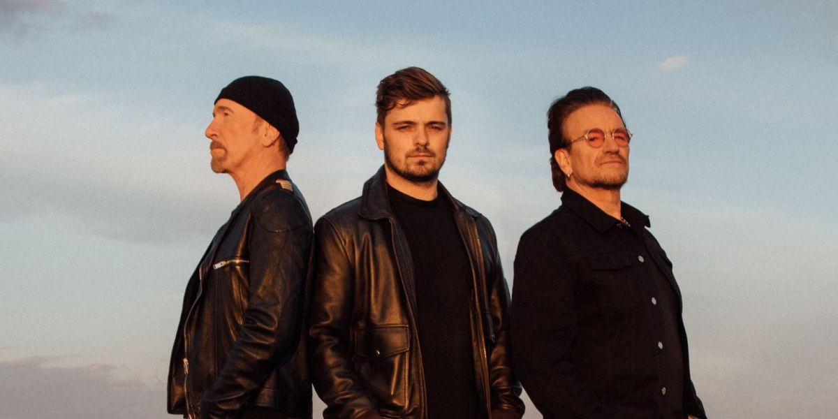 Martin Garrix se une a Bono y The Edge de U2 en 'We are the people'