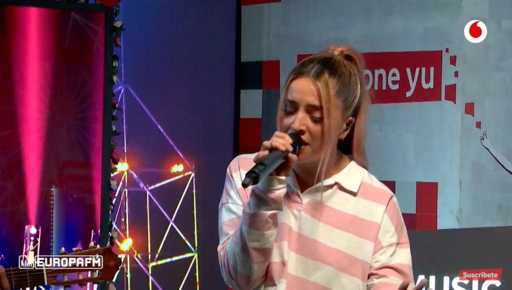 Lola Índigo canta 'Mala cara' en 'yu Music'