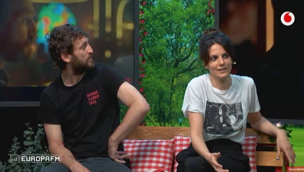 Raúl Arévalo y Melina Matthews