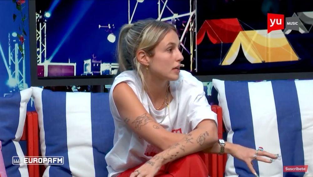 """María Escarmiento: """"'Déjame sola' es un preludio de algo más grande que está por venir"""""""