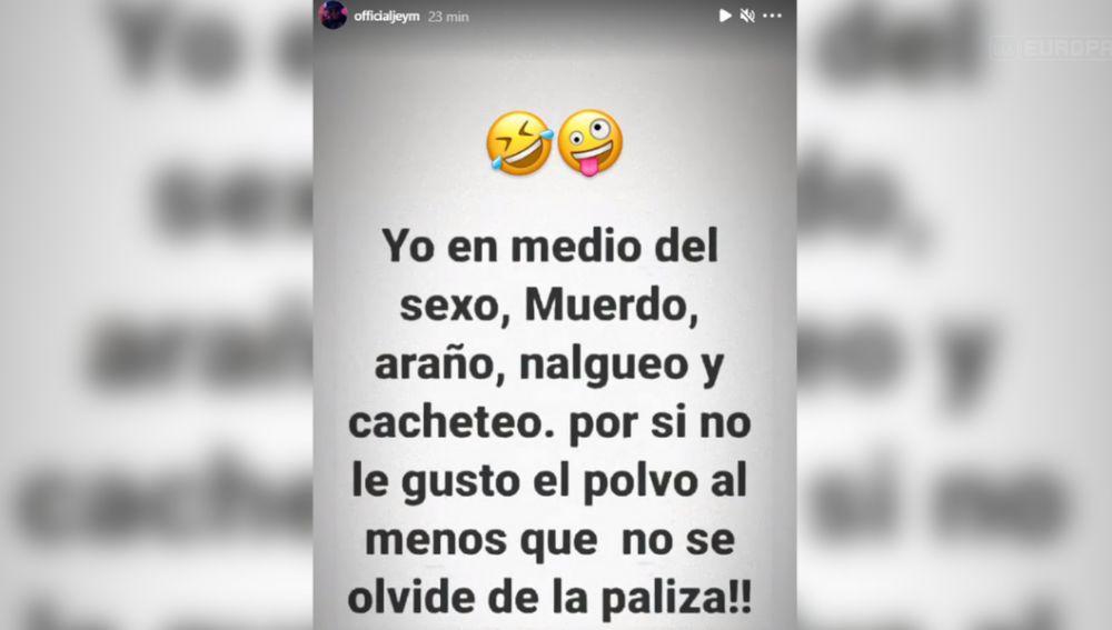 El mensaje de Jesé Rodríguez sobre sus gustos sexuales