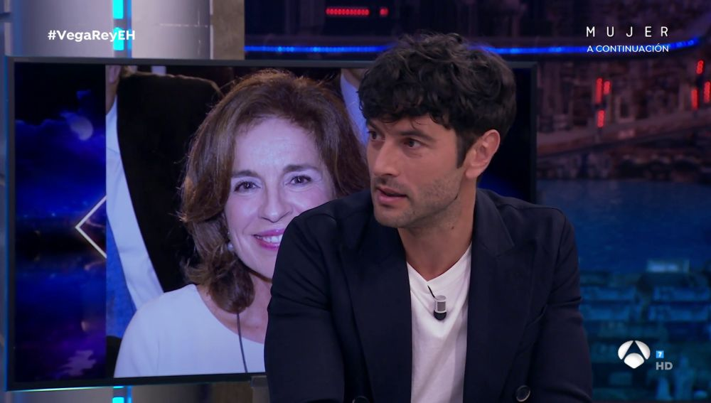 Javier Rey en 'El Hormiguero'