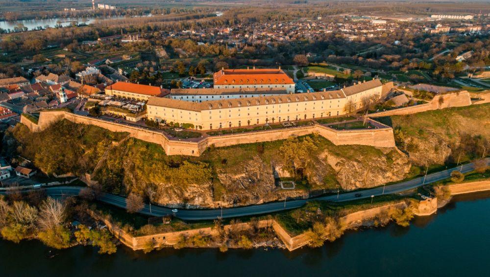 Fortaleza de Petrovaradin en Novi Sad, casa de Exit Festival