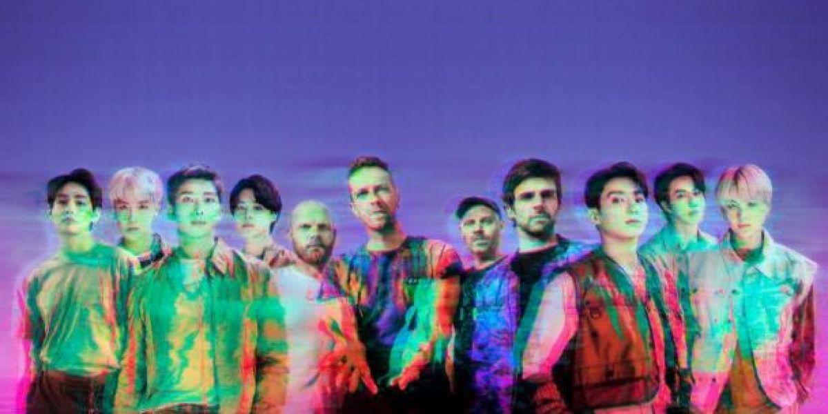 BTS y Coldplay presentan 'My universe'