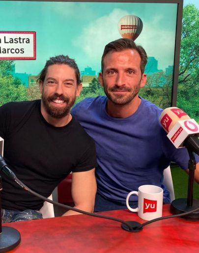 Iván Marcos y Adrián Lastra