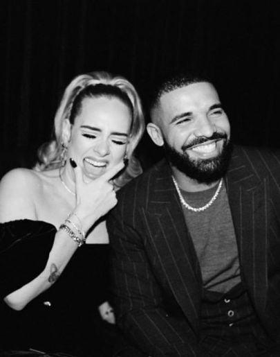 Adele y Drake.