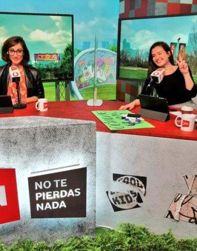 Ana Morgade y Victoria Martín