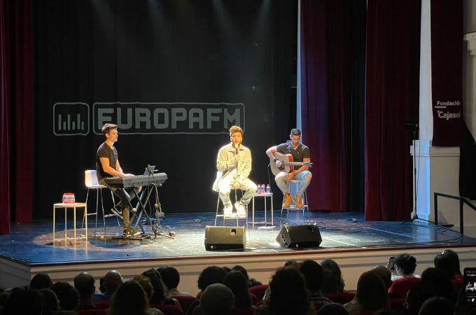 Blas Cantó en el showcase exclusivo de Sevilla
