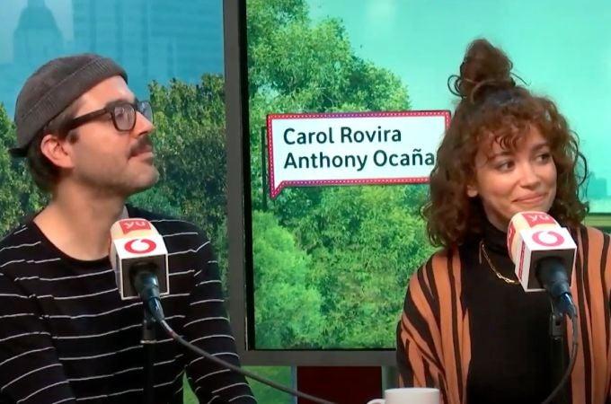 Carol Rovira y Anthony Ocaña