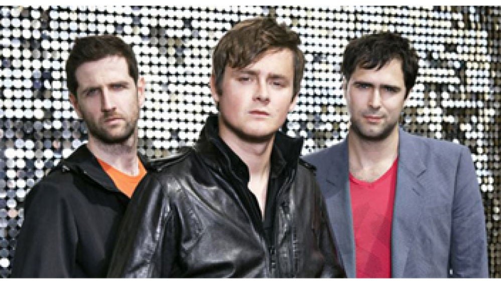 Keane son Tom Chaplin, Tim Rice-Oxley y Richard Hughes
