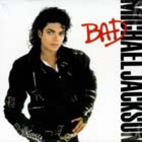 Michael Jackson Bad Portada