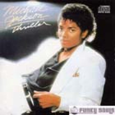 Michael Jackson Thriller Portada