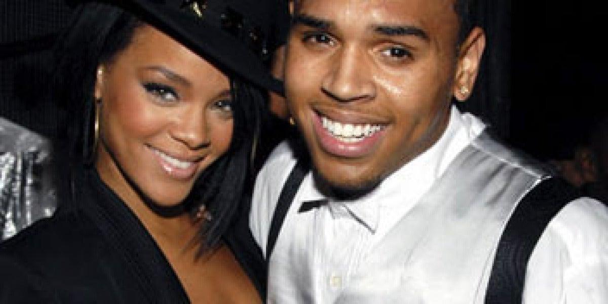Rihanna y Brown, antes del escándalo