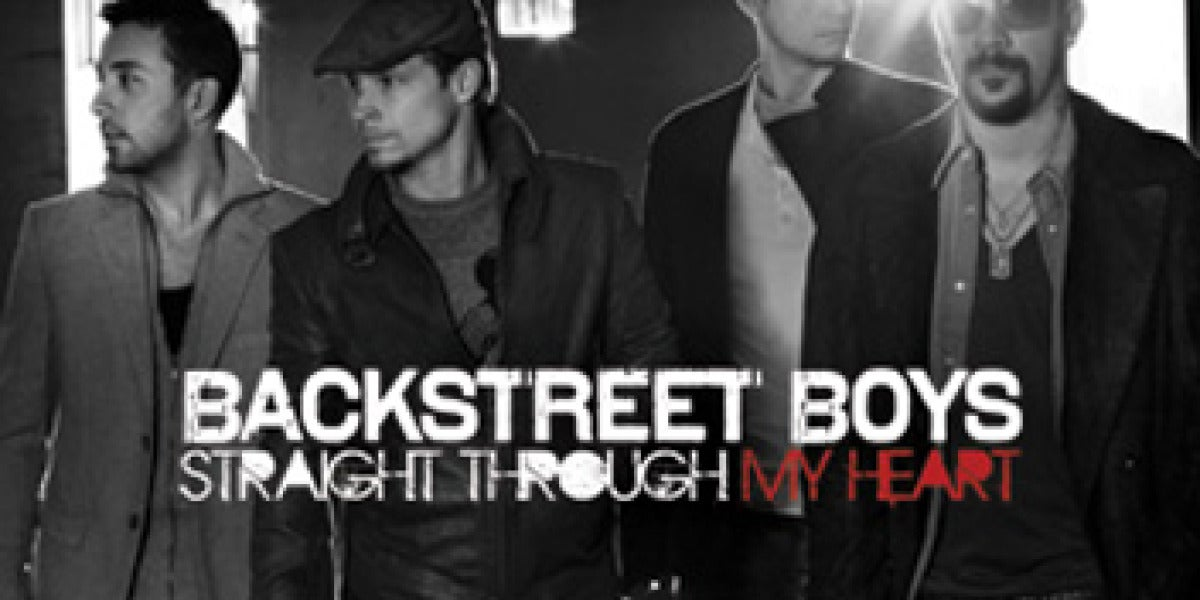 Portada del sencillo Straight Through My Heart