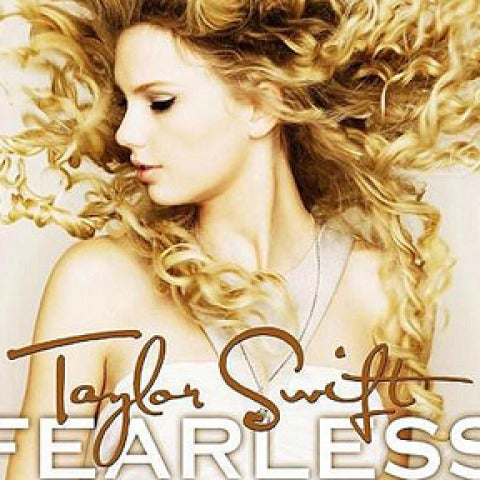 Portada Taylor Swift Fearless