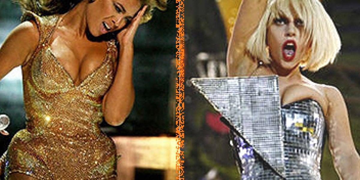 Beyoncé y Lady Gaga