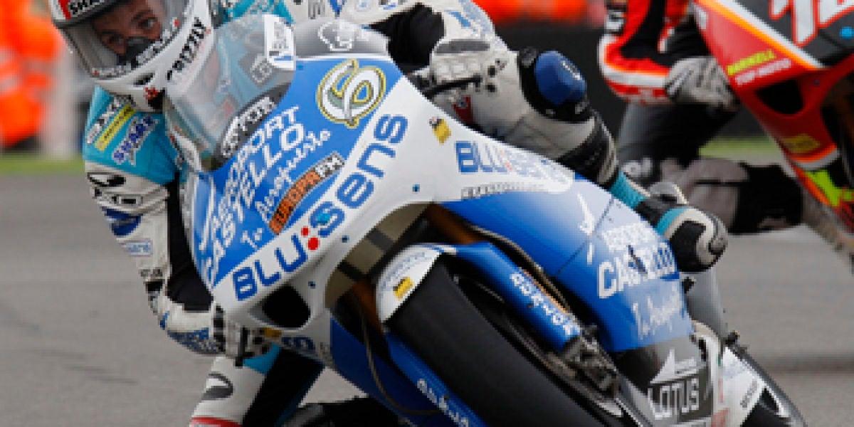Álex Debón en el Gran Premio de Gran Bretaña