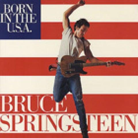Portada Bruce Springsteen - Born in the USA
