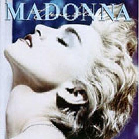 Portada Madonna - True Blue