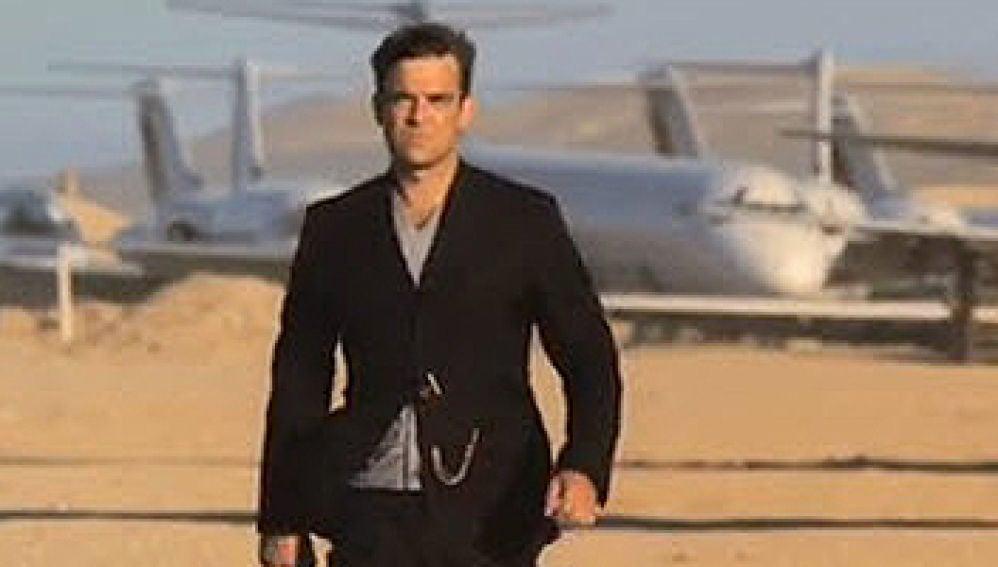 Imagen del último videoclip de Robbie Williams