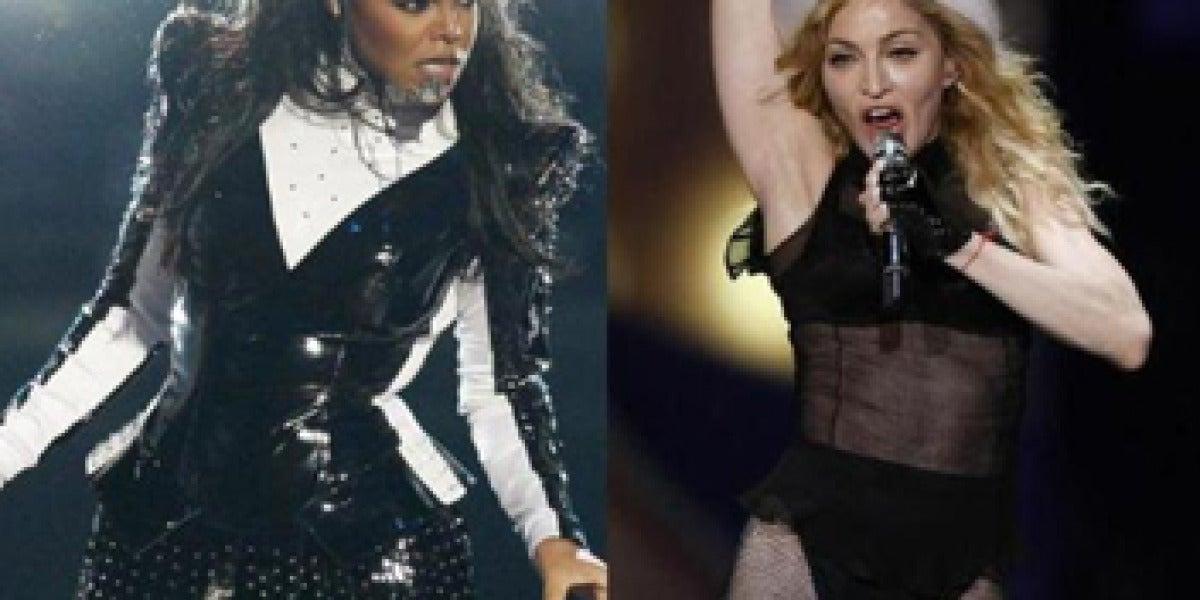 ¿Janet Jackson y Madonna, juntas en el escenario?