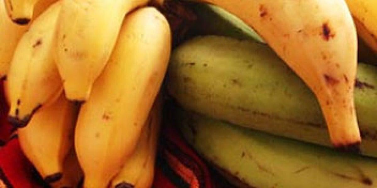 Los beneficios del plátano