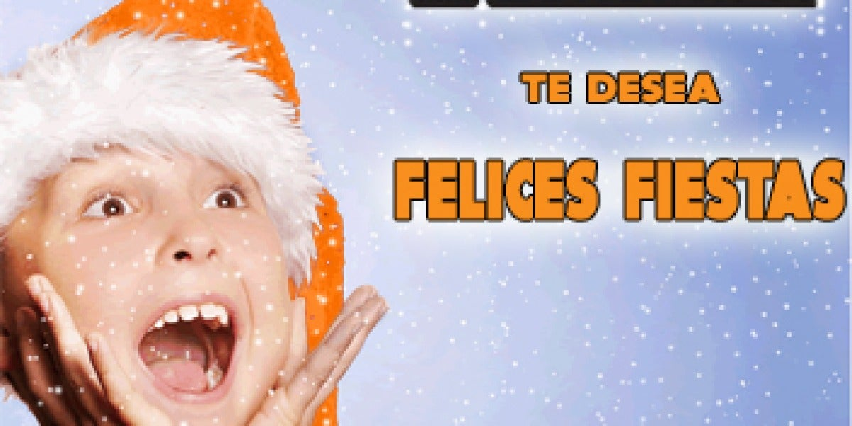 Europa FM te desea felices fiestas