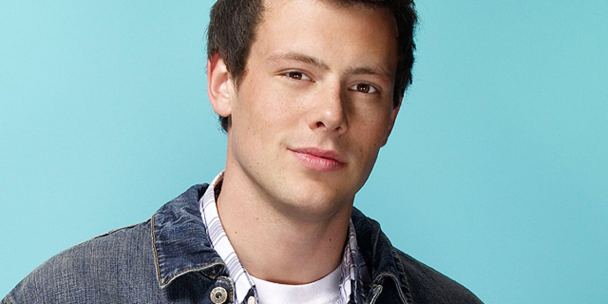 Cory Monteith es Finn Hudson en Glee