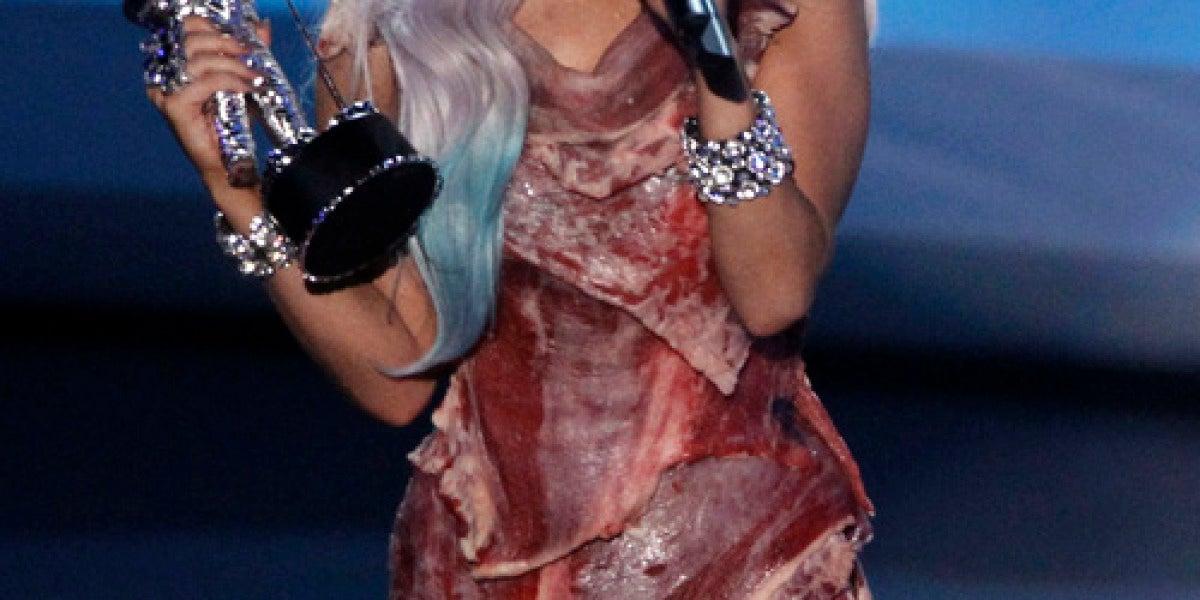 La excéntrica cantante estadounidense Lady Gaga.