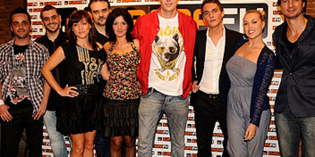 El equipo de Europa FM para esta temporada 2010-2011
