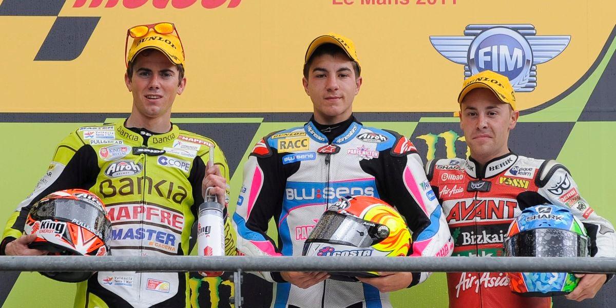 Viñales, vencedor de 125cc en el GP de Francia