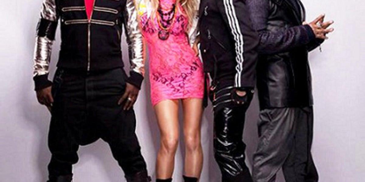 Los Black Eyed Peas promocionan su último disco, 'The end'.