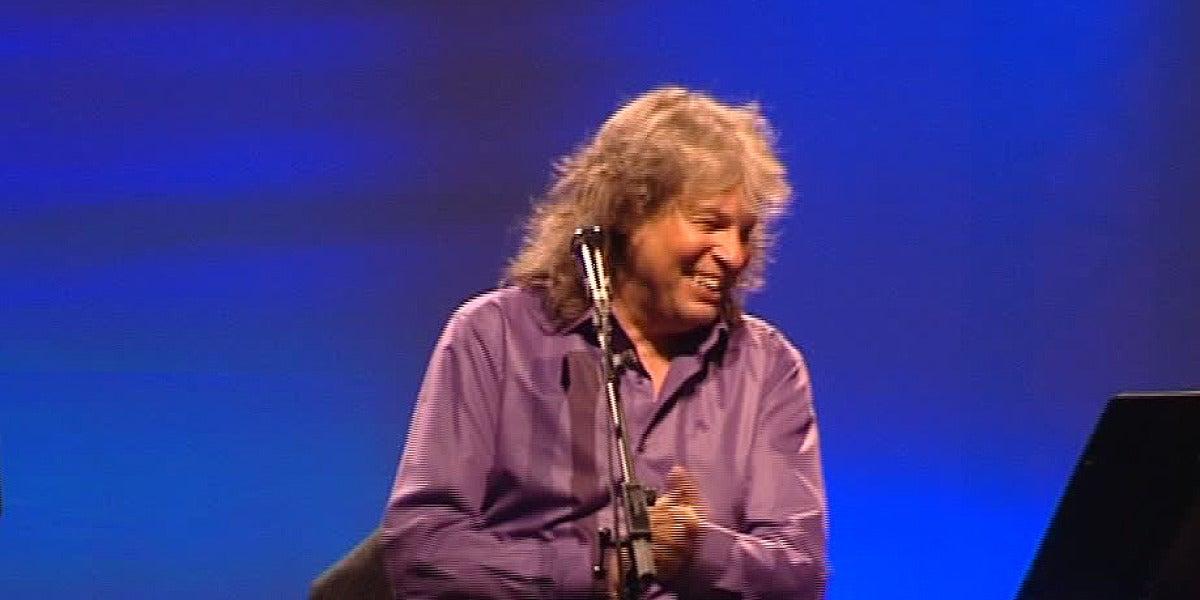 El cantaor gaditano durante el concierto.