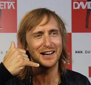 David Guetta en un momento de la entrevista que concedió a antena 3.