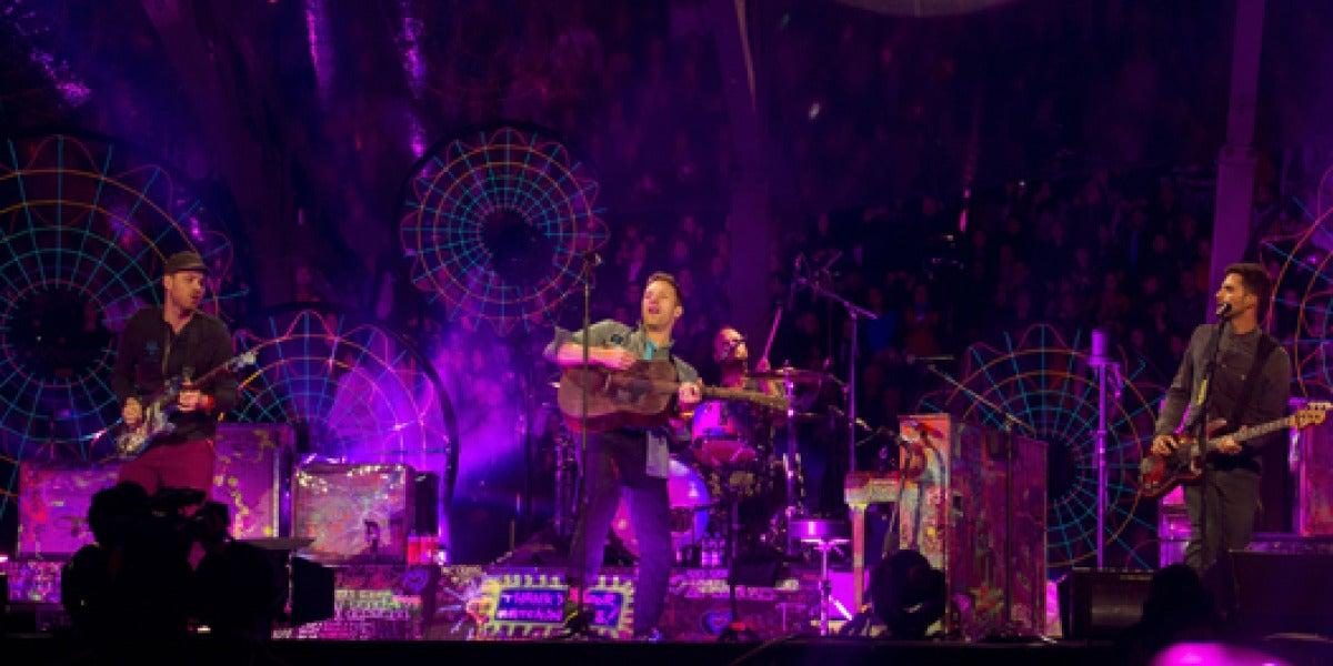 Coldplay en Las Ventas
