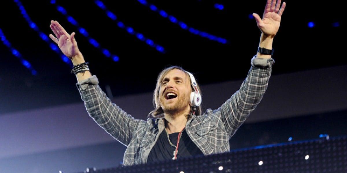 Concierto de David Guetta