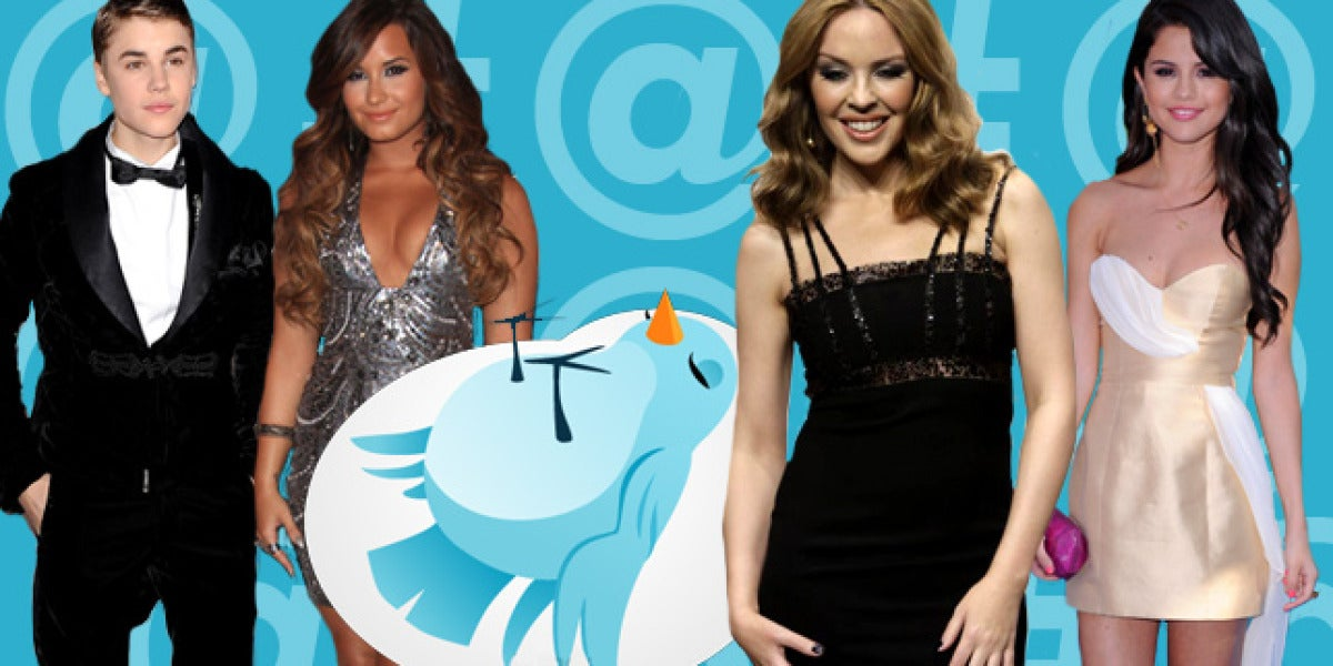 Celebrities amenzadas por Twitter