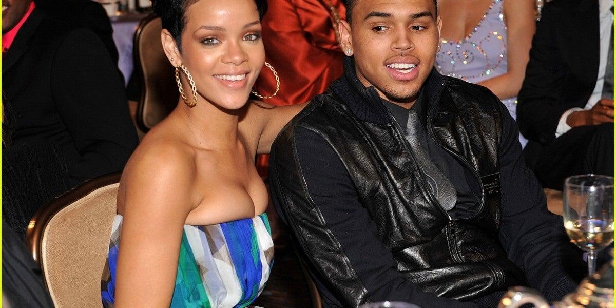 Rihanna y Chris Brown en sus tiempos mozos.