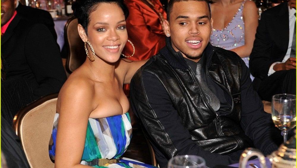 Rihanna y Chris Brown en sus tiempos mozos